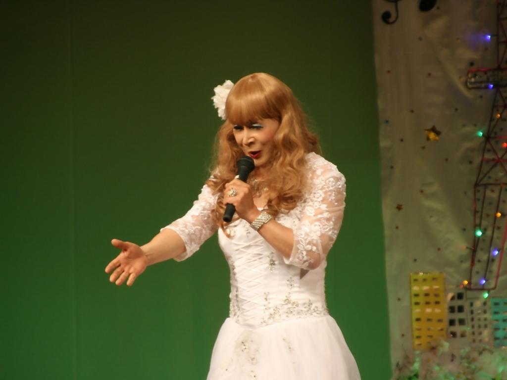 白ドレス舞台おんな炎A(7)