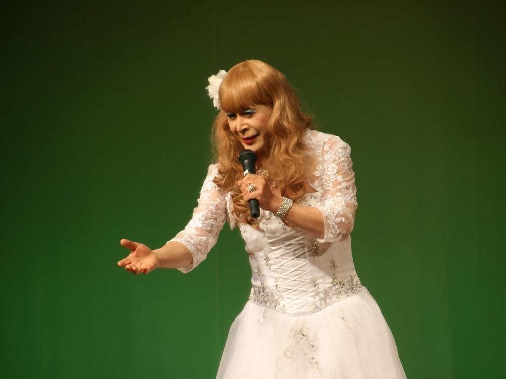 白ドレス舞台おんな炎A(8)