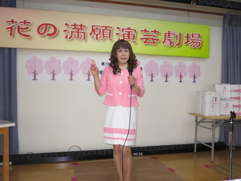 ピンクスーツ舞台練習(4)