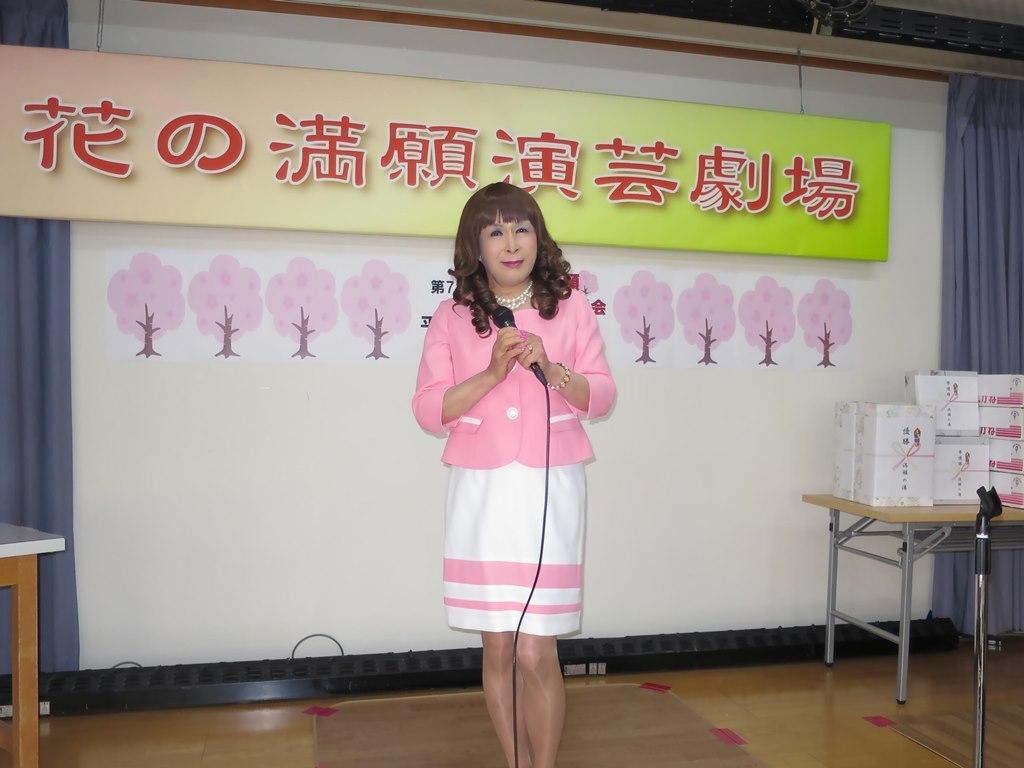 ピンクスーツ舞台練習(5)