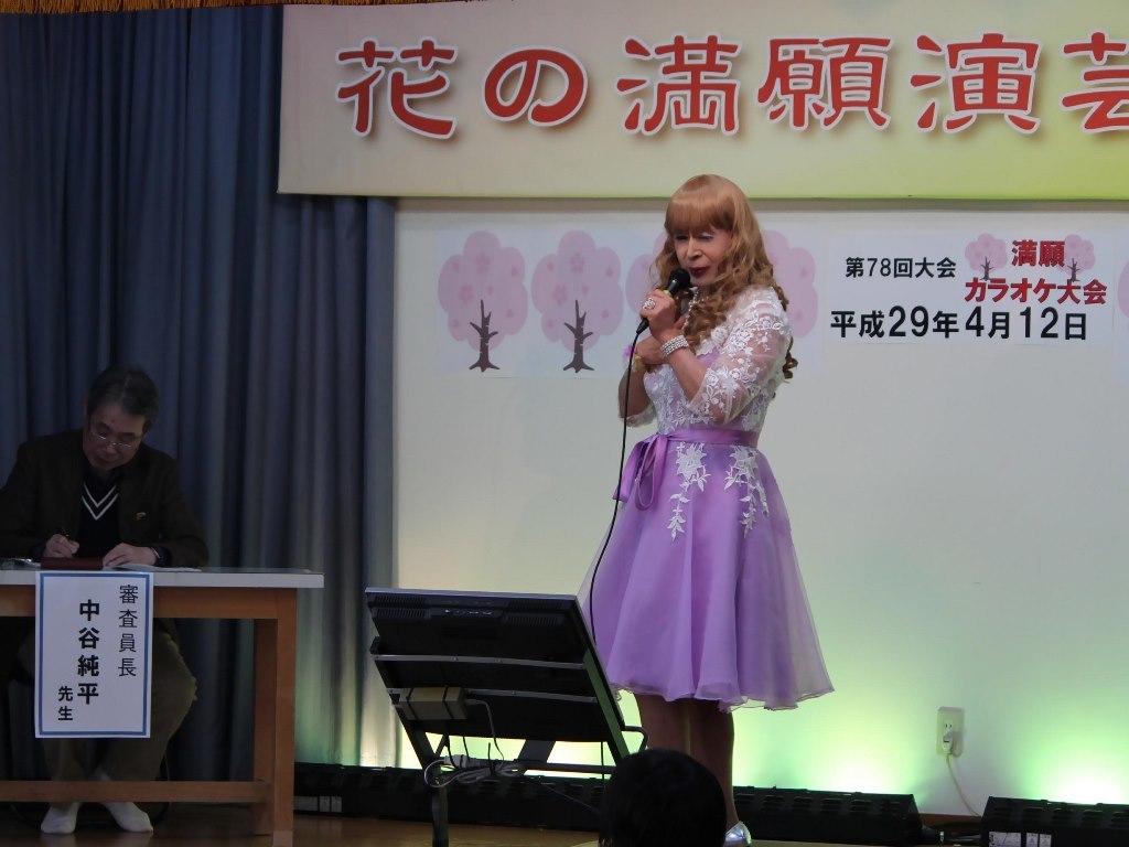 紫ショートドレス舞台(7)