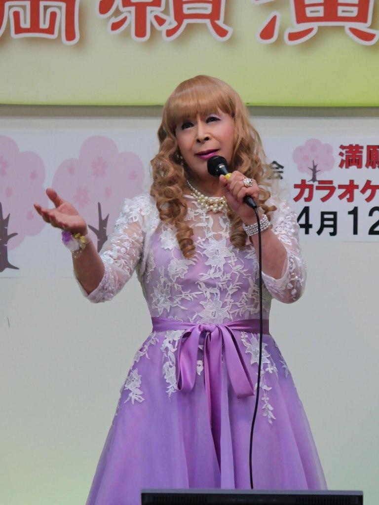 紫ショートドレス舞台(5)