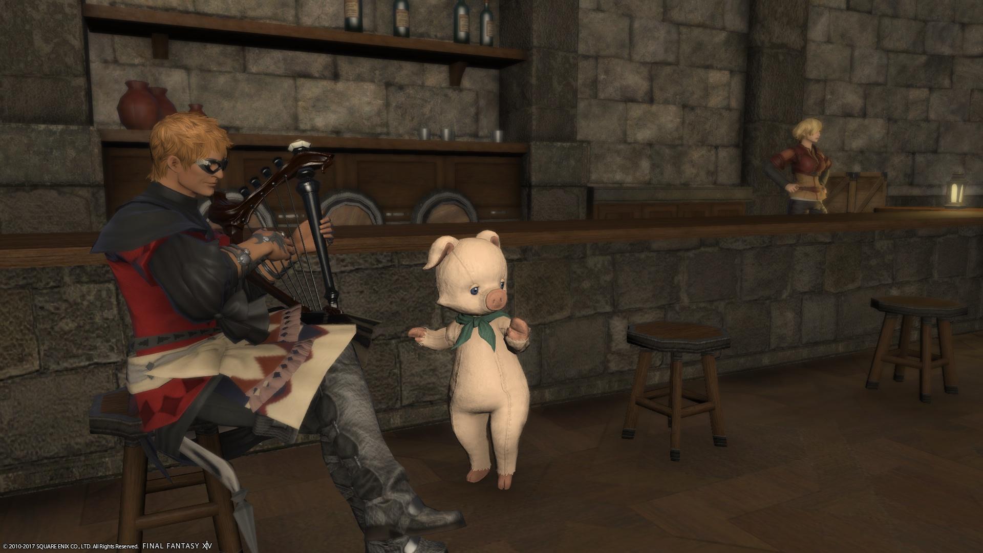 豚さんに!