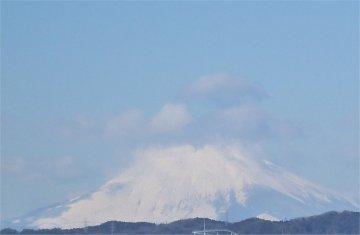 (3)富士山雪景色