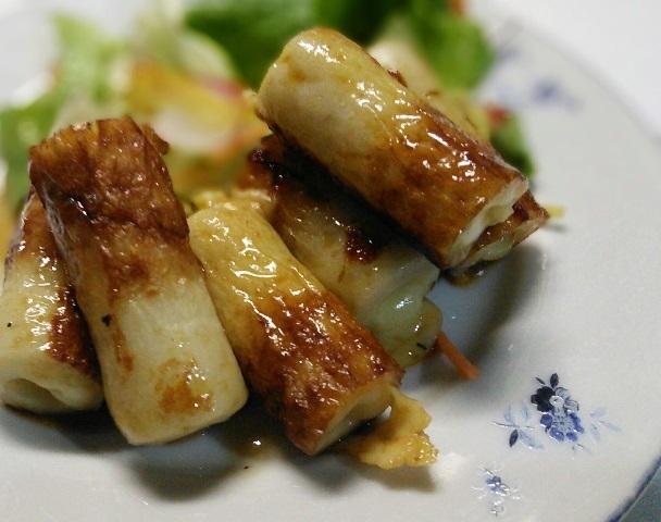竹輪チーズ