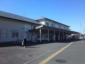 久里浜駅舎