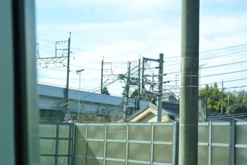 武蔵野貨物線稲城駅付近