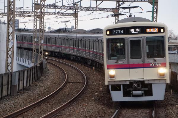 2017-02-10 京王7724F 準特急橋本行き