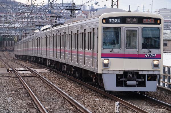 2017-02-10 京王7724F 準特急新宿行き