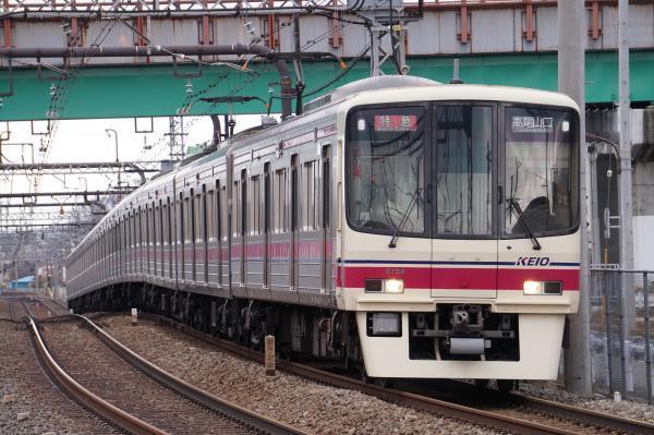 2017-02-10 京王8708F 特急高尾山口行き
