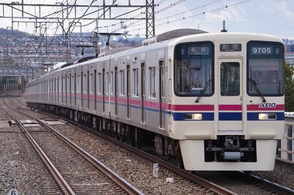 2017-02-10 京王9705F 各停新宿行き