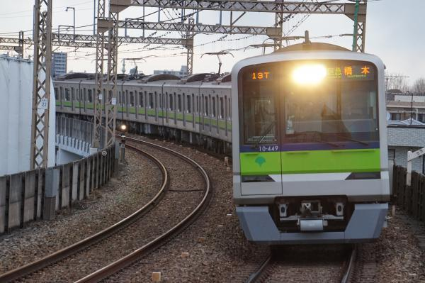 2017-02-10 都営10-440F 区急橋本行き