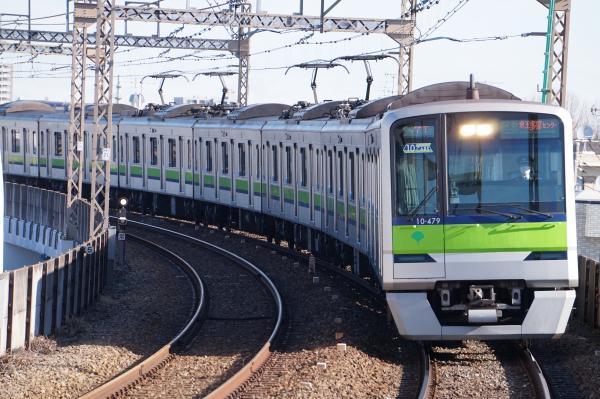 2017-02-10 都営10-470F 区間急行京王多摩センター行き