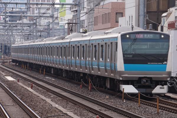 2017-02-18 京浜東北線E233系サイ171編成 快速南浦和行き