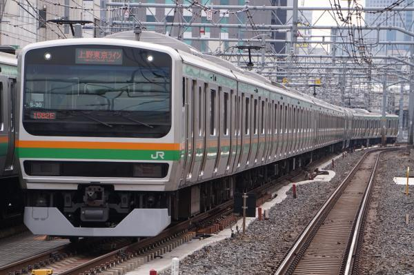 2017-02-18 上野東京ラインE231系コツS-30編成