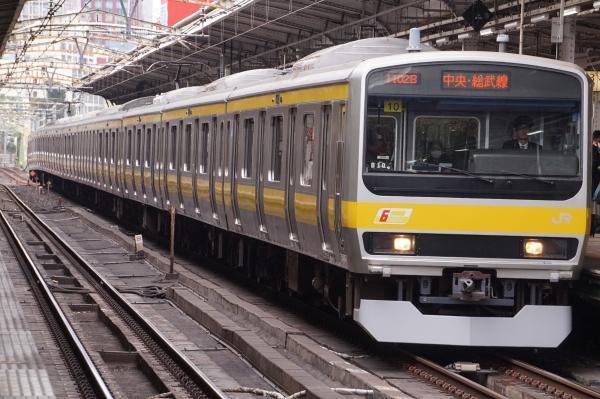 2017-02-18 総武線E231系ミツB10編成 千葉行き