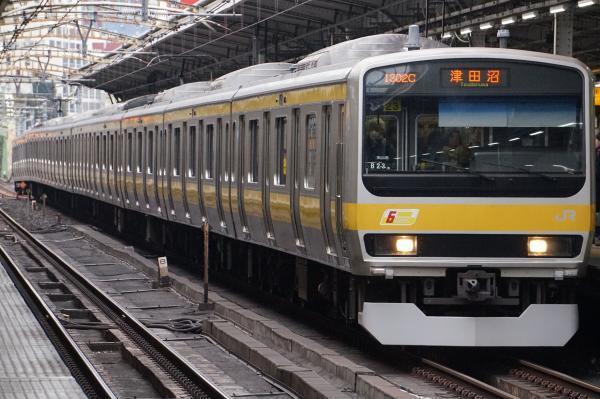 2017-02-18 総武線E231系ミツB23編成 津田沼行き