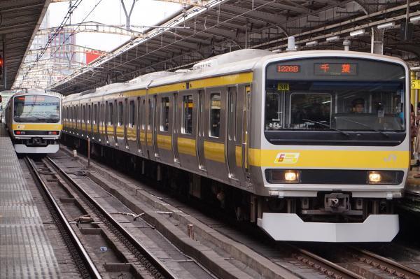 2017-02-18 総武線E231系ミツB38編成 千葉行き