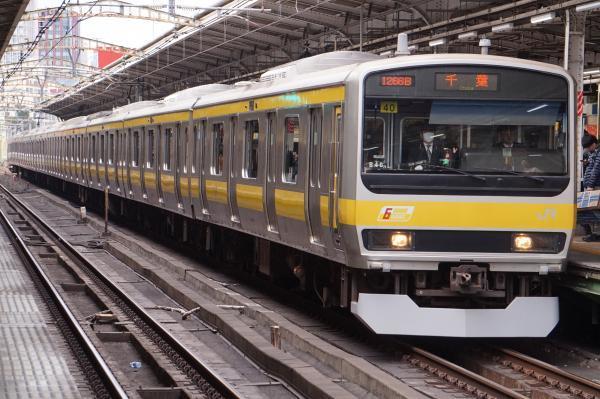 2017-02-18 総武線E231系ミツB40編成 千葉行き