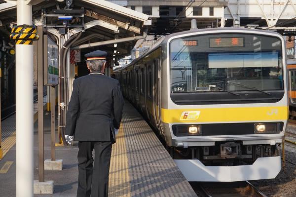 2017-02-18 総武線E231系ミツB42編成 千葉行き1