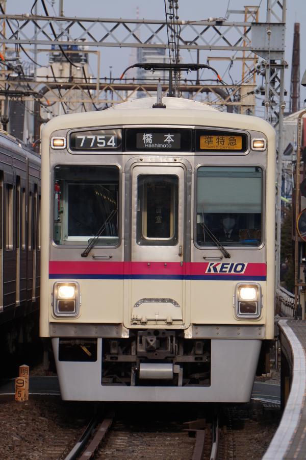 2017-03-04 京王7704F 準特急橋本行き
