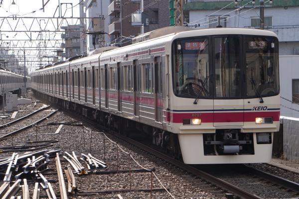 2017-03-04 京王8707F 準特急新宿行き