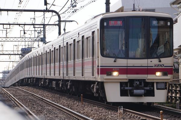 2017-03-04 京王8709F 特急新宿行き