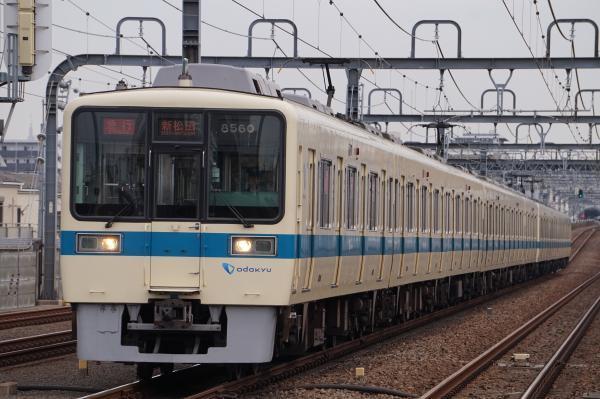 2017-03-04 小田急8060F_8260F 急行新松田行き