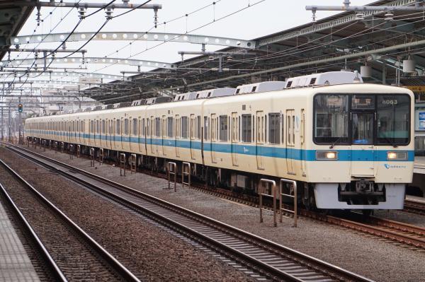 2017-03-04 小田急8063F_8263F 快速急行新宿行き