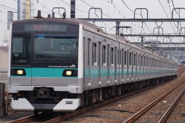 2017-03-04 常磐線E233系マト17編成 急行唐木田行き