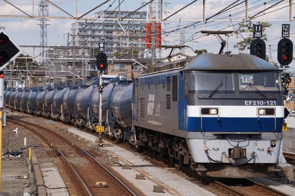 2017-03-08 EF210-121牽引 貨物列車