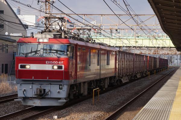 2017-03-08 EH500-64牽引 貨物列車