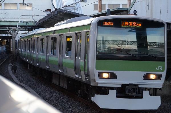 2017-03-08 山手線E231系トウ504編成 上野・東京方面行き