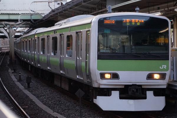 2017-03-08 山手線E231系トウ531編成 上野・東京方面行き