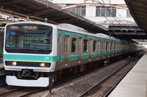 2017-03-08 常磐線E231系マト101編成 上野行き