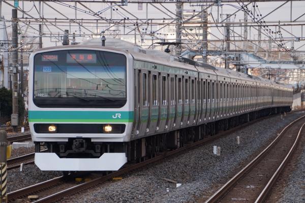 2017-03-08 常磐線E231系マト102編成 上野行き