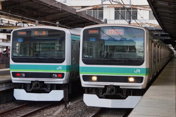 2017-03-08 常磐線E231系マト106編成 マト103編成