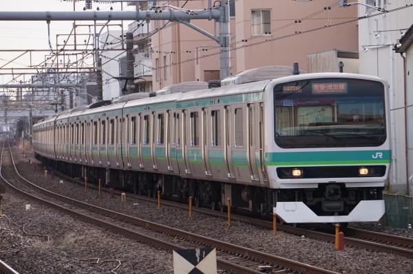 2017-03-08 常磐線E231系マト115編成 成田行き