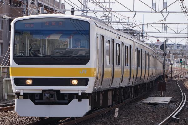 2017-03-08 総武線209系ミツC509編成 津田沼行き