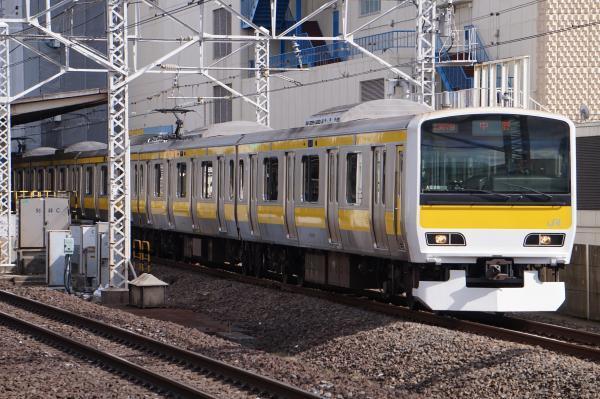 2017-03-08 総武線E231系ミツA520編成 中野行き