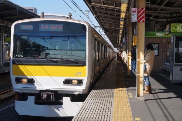 2017-03-08 総武線E231系ミツA520編成 津田沼行き
