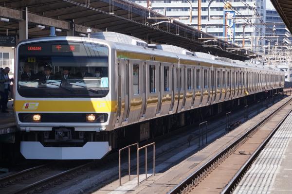2017-03-08 総武線E231系ミツB11編成 千葉行き