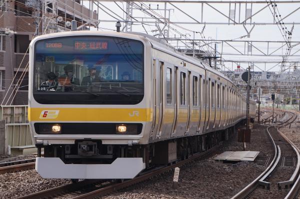2017-03-08 総武線E231系ミツB28編成 千葉行き2