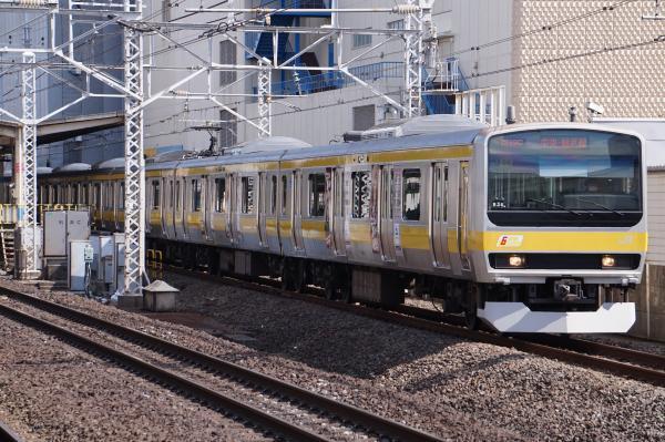 2017-03-08 総武線E231系ミツB36編成 中野行き