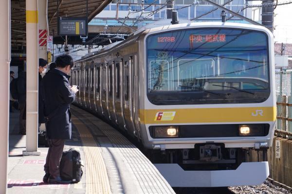 2017-03-08 総武線E231系ミツB37編成 中野行き