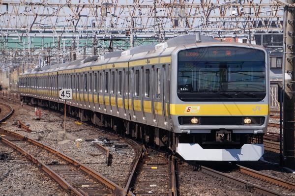 2017-03-08 総武線E231系ミツB40編成 千葉行き