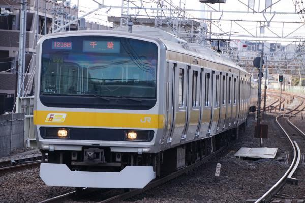 2017-03-08 総武線E231系ミツB57編成 千葉行き