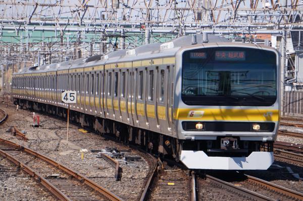 2017-03-08 総武線E231系ミツB80編成 千葉行き