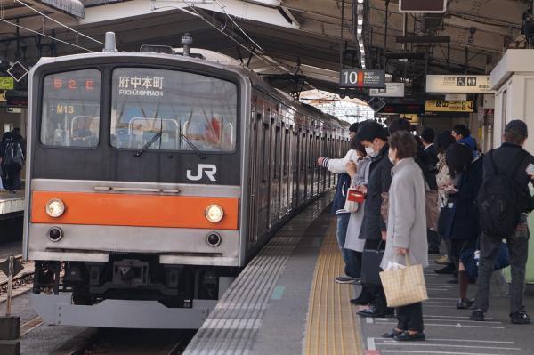 2017-03-08 武蔵野線205系ケヨM13編成 府中本町行き