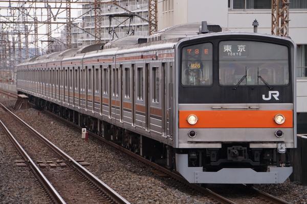 2017-03-08 武蔵野線205系ケヨM26編成 東京行き